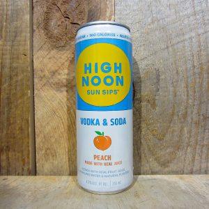 High Noon Vodka and Soda Peach (Single Can) 355ml