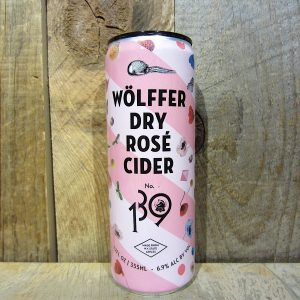 Wolffer Dry Rose Cider (Cans) 355ml
