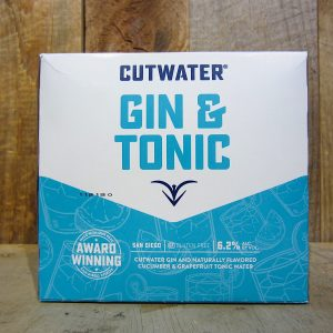Cutwater Gin and Tonic (4-Pack)