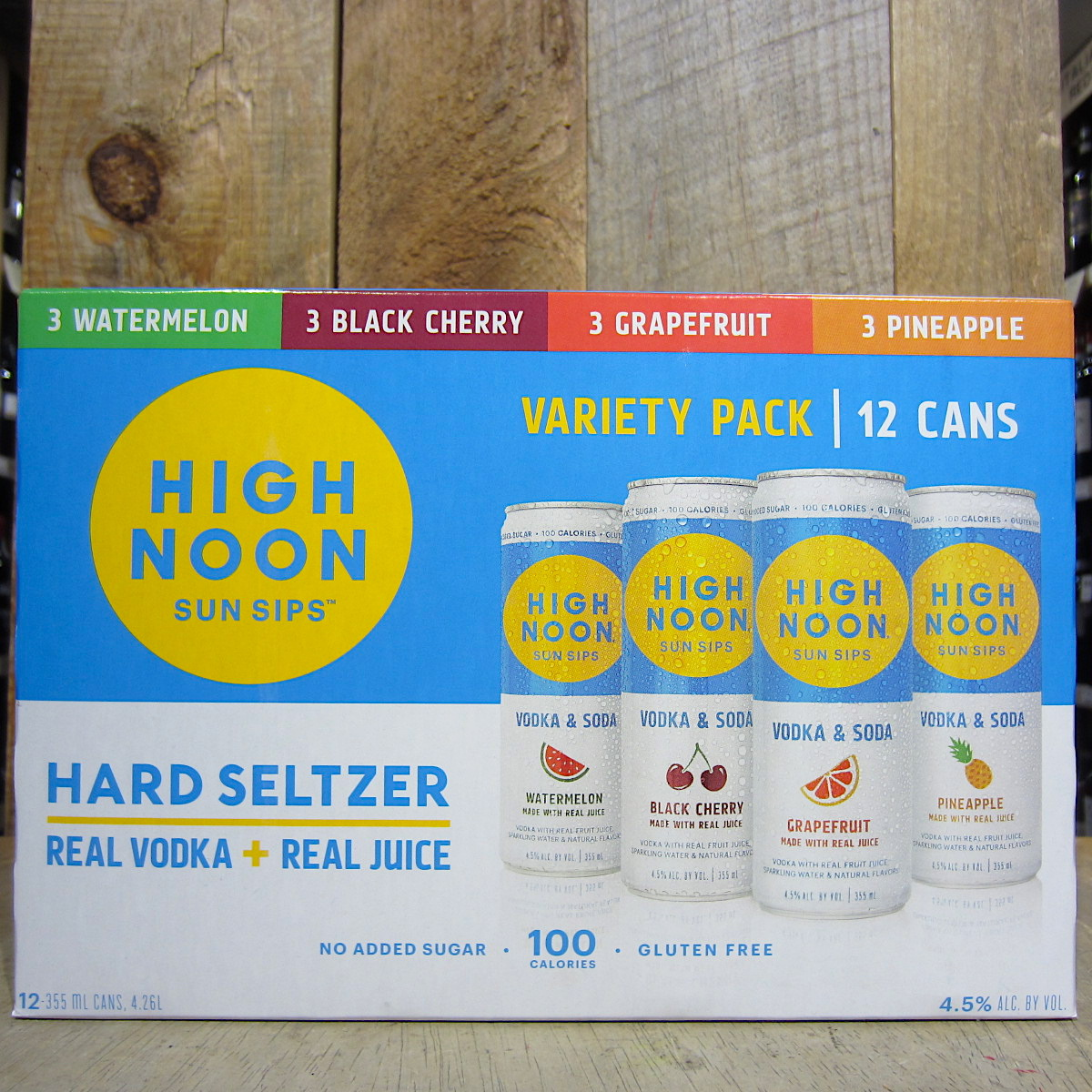 High Noon Hard Seltzer Variety Pack (12-Pack)