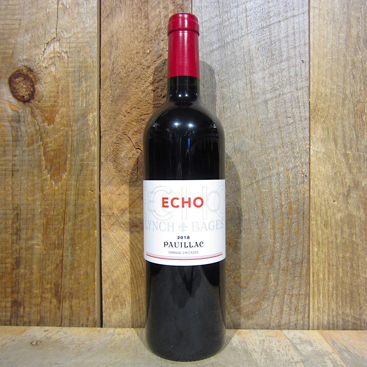 Echo de Lynch Bages Pauillac 2018 750ml