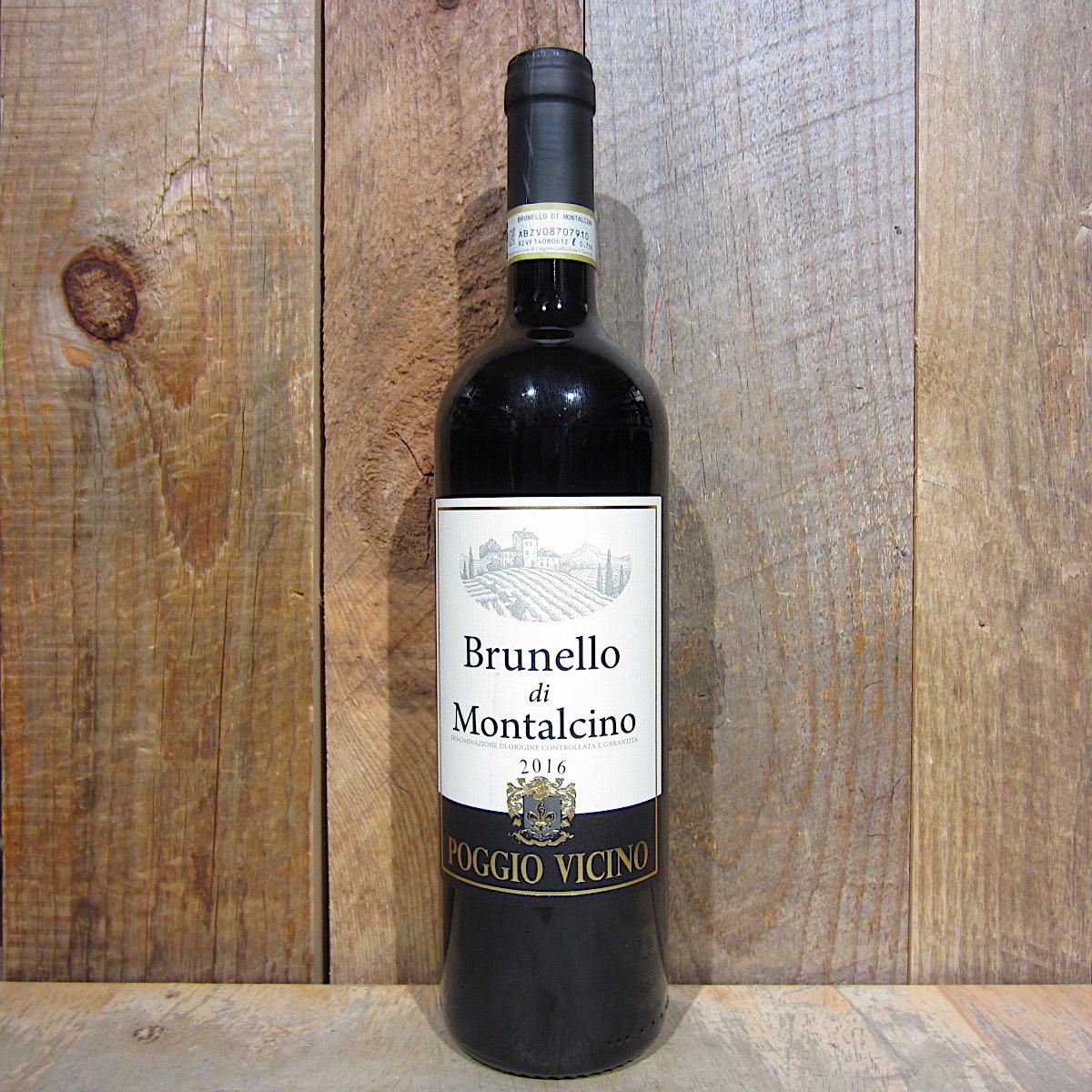 Poggione Vicino Brunello di Montalcino 2016 750ml
