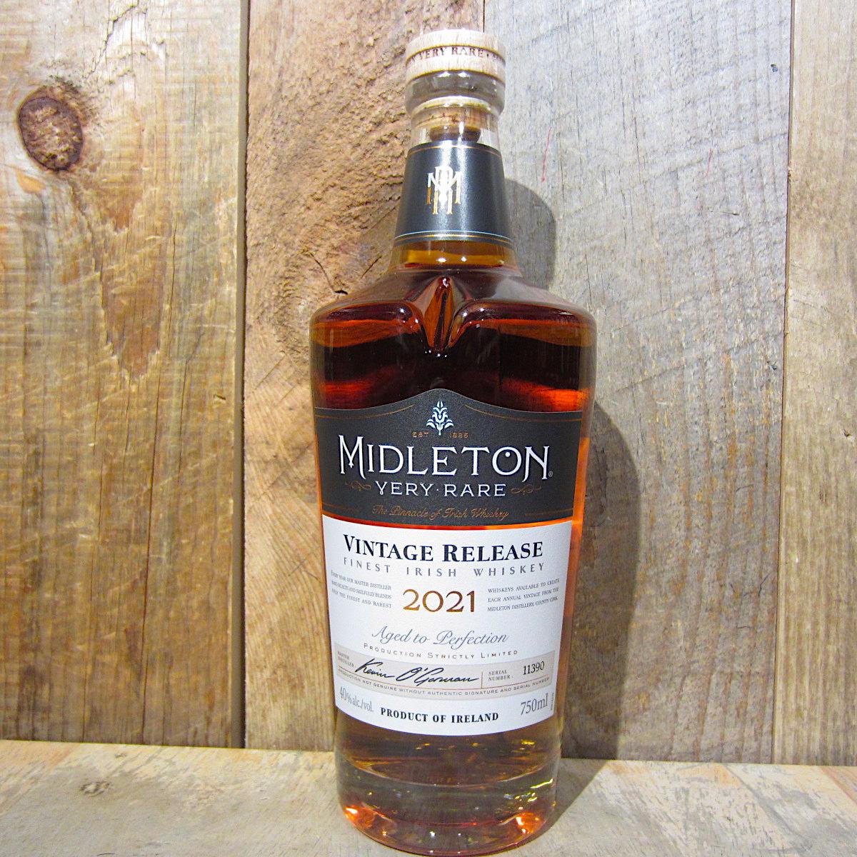 Midleton Very Rare Irish Whiskey Vintage 2021 750ml